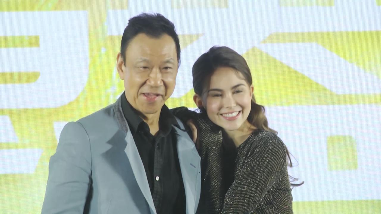 昆凌北京宣傳新戲 感謝導演給予機會