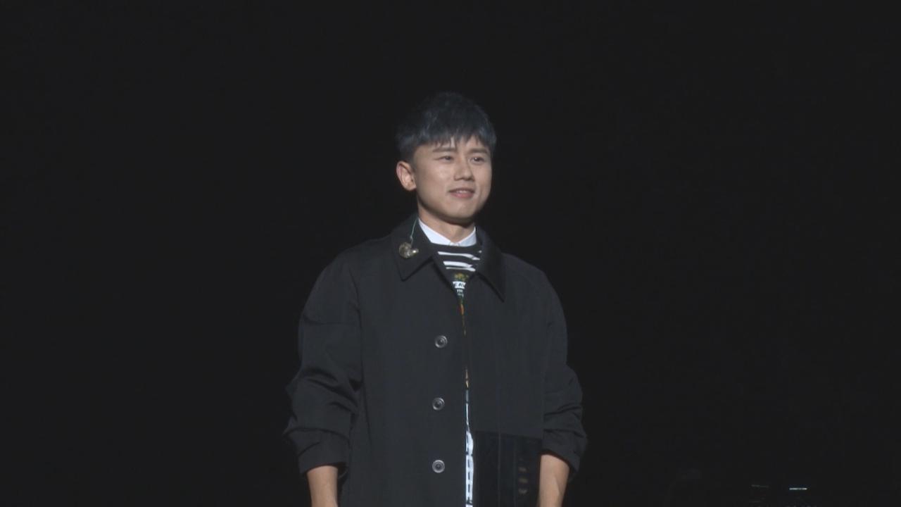 上海舉行世界巡迴個唱 張杰大唱經典情歌