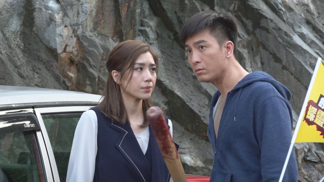馬國明貼文表示努力工作 黃智雯爆二人劇中感情昇華