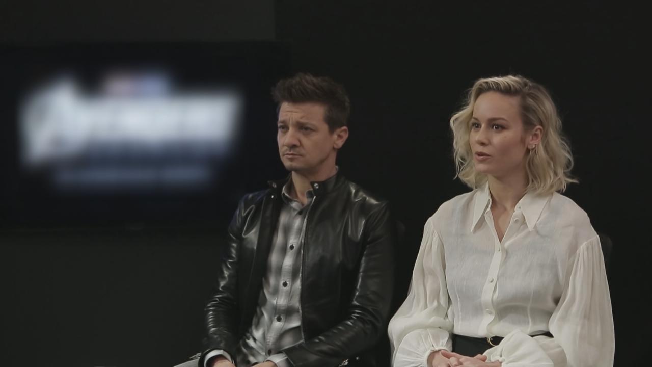 (國語)JeremyRenner笑言上集去度假 BrieLarson首次於新系列登場