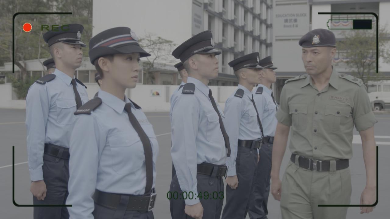 網劇機動部隊2019於bigbigchannel首播 楊明蔡思貝體驗胡椒噴霧