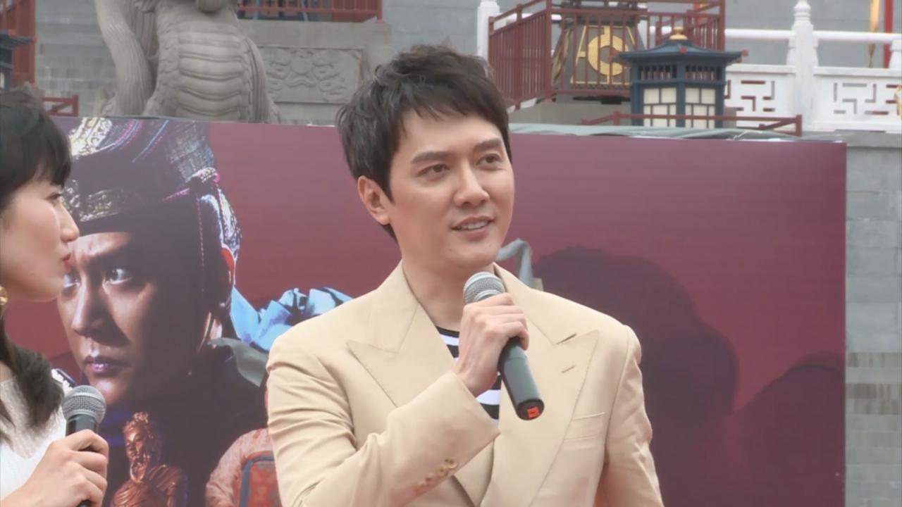 馮紹峰大談新戲角色 透露武藝高強兼造型突出