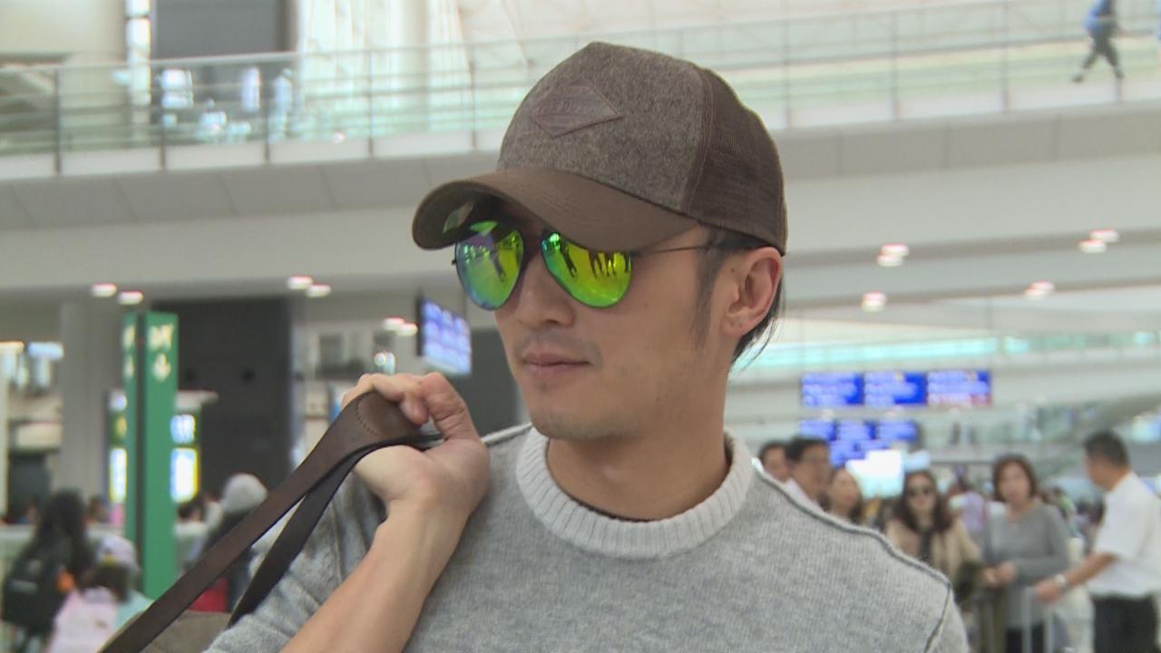 謝霆鋒於機場被捕獲 留港一周與甄子丹拍新戲