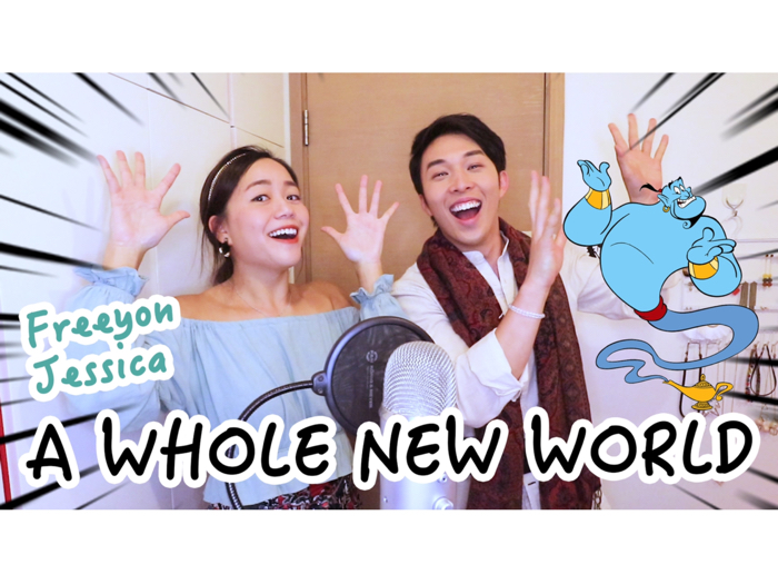 JESSICA X FREEYON DISNEY COVER | A Whole New World