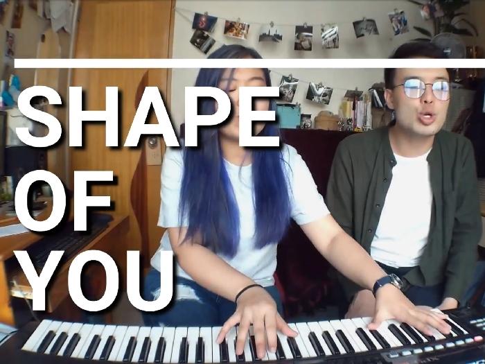 Ed Sheeran - Shape of you (浠彤Heitung and Patricks.ings cover)