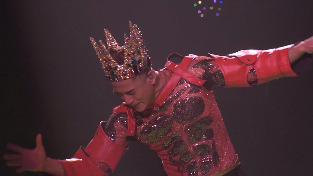 (國語)郭富城巡唱上海站 以特製皇冠盡顯王者之風