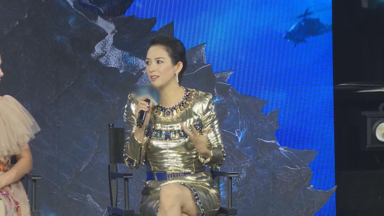 章子怡北京出席新戲首映禮 苗條身形打破懷孕傳聞