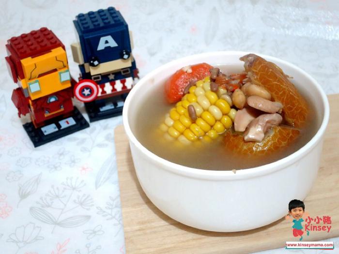 小小豬湯水篇 - 老黃瓜赤扁豆素湯