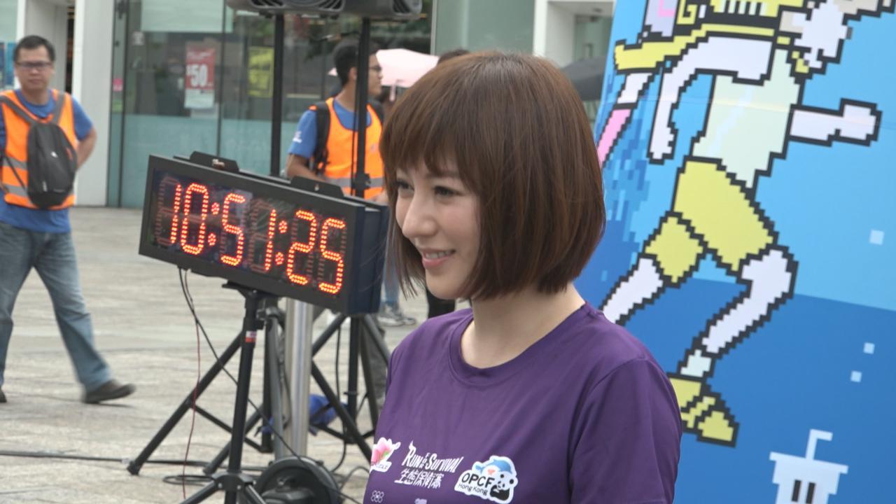 分享北極跑馬拉松感受 劉心悠笑言有助克服一切困難