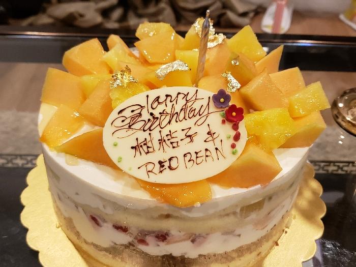柑桔仔red bean生日快樂????