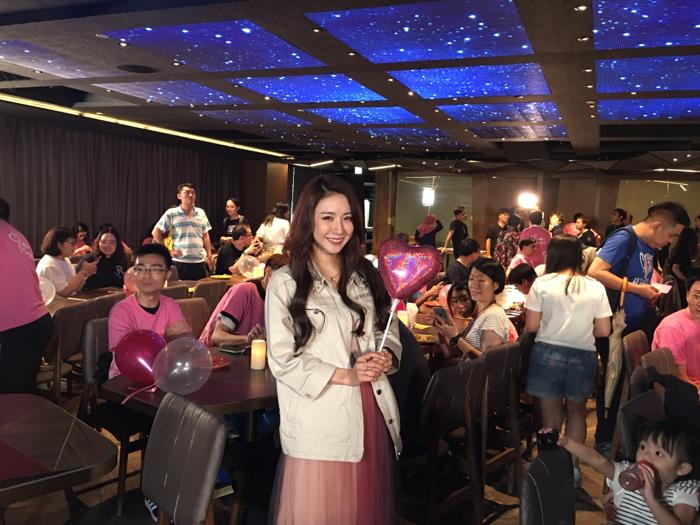 恭喜Hana慶祝歌迷成立3周年