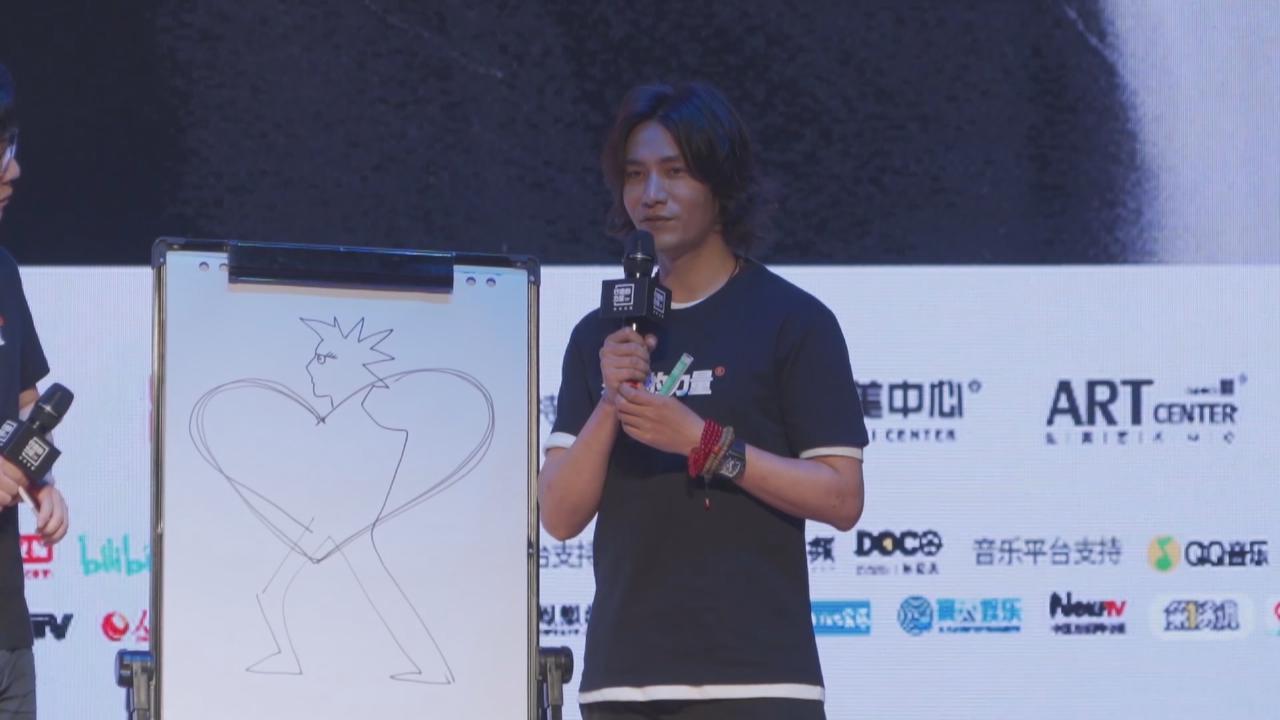 陳坤宣傳公益活動 大談演員如何處理情緒問題