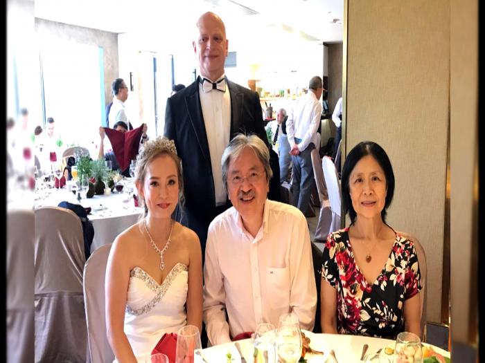 翁靜晶感動婚禮