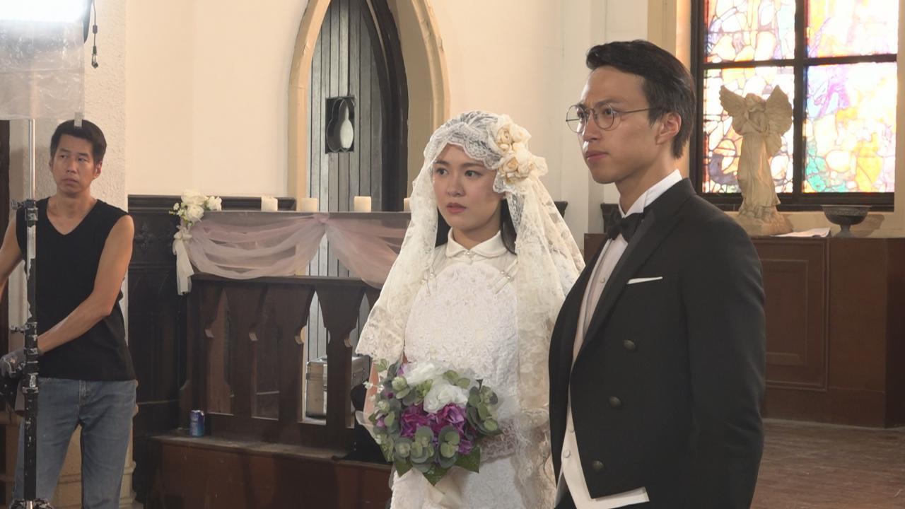 (國語)吳業坤西裝筆挺拍結婚戲 計劃三年後成家立室