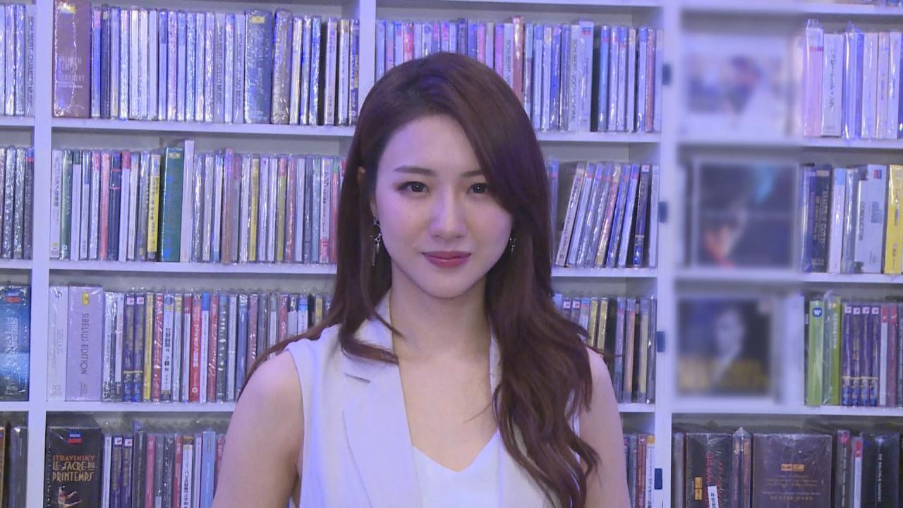 菊梓喬專輯加推紅膠特別版 化身一日店長與歌迷接觸