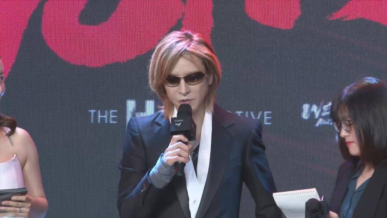 YOSHIKI上海宣傳XJAPAN紀錄片 感謝歌迷熱情支持