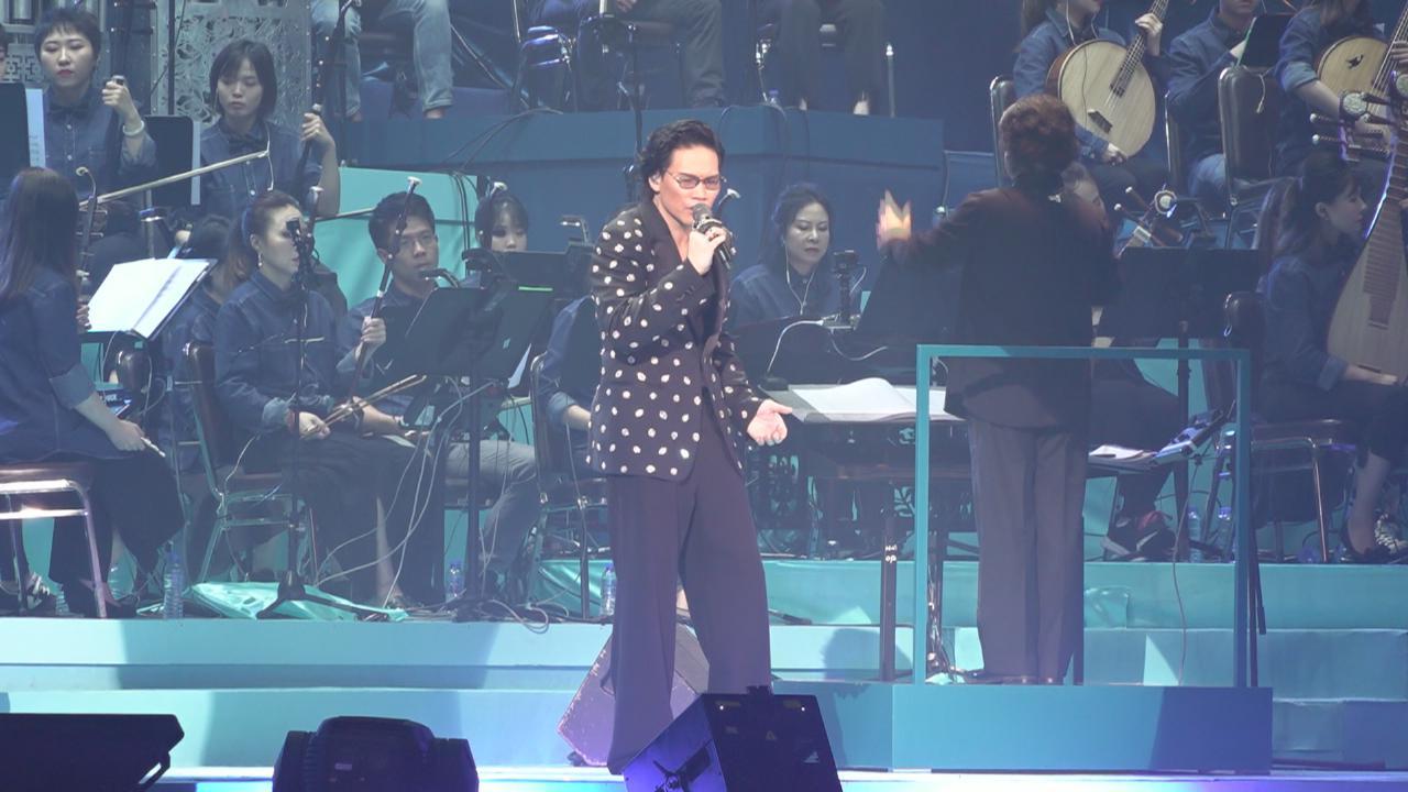 蘇永康演唱會尾場 邀近百位中西樂手伴奏