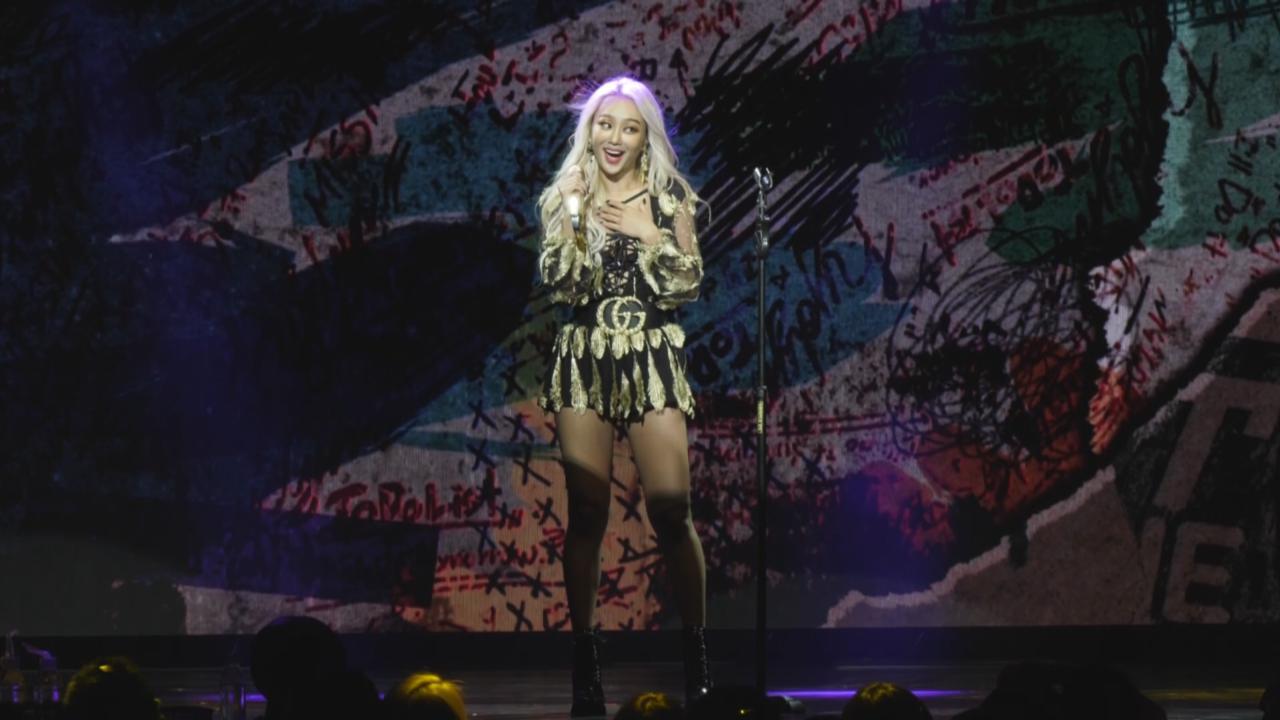 孝琳首次巡唱登陸台灣 勁歌熱舞炒熱全場氣氛