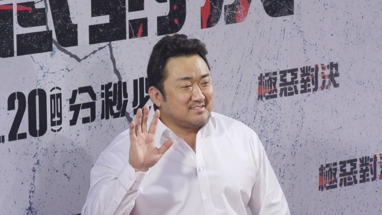 馬東石台灣宣傳新戲 以國語向粉絲打招呼