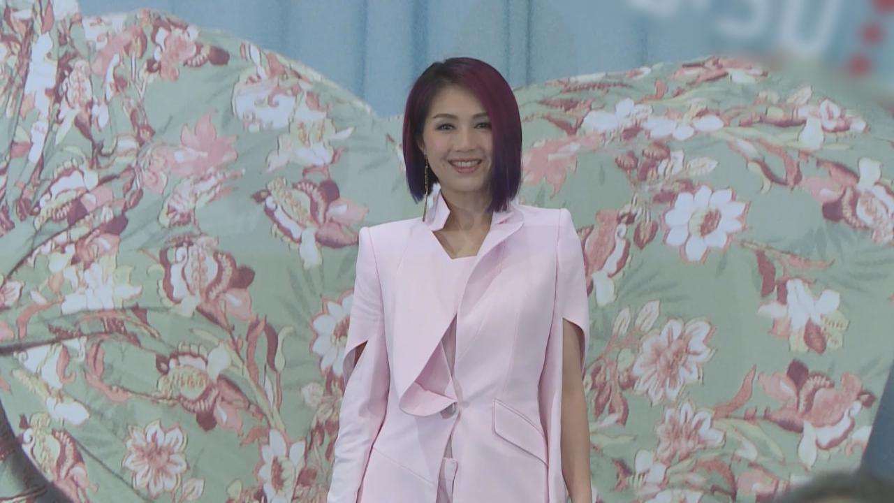 千嬅赴上海宣傳世界巡唱 獲好友任賢齊驚喜撐場