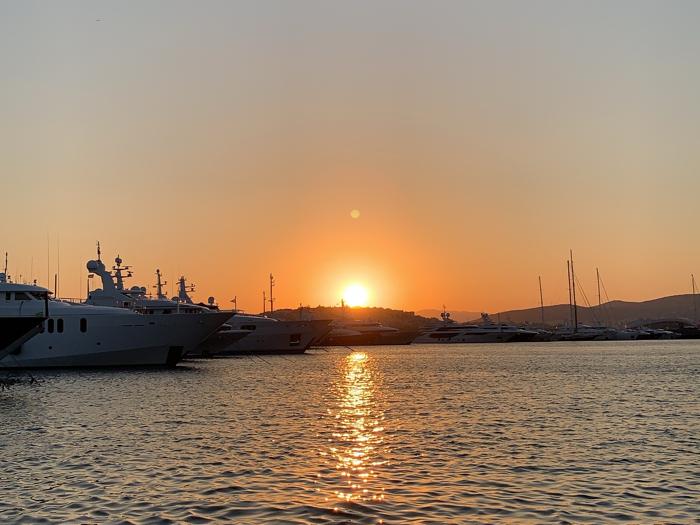 雅典嘅日落