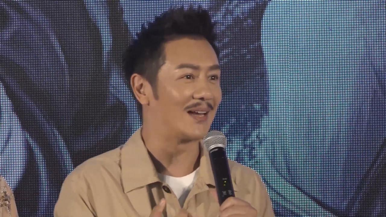 新片扮演南拳宗師 陳浩民望發揚武術精神