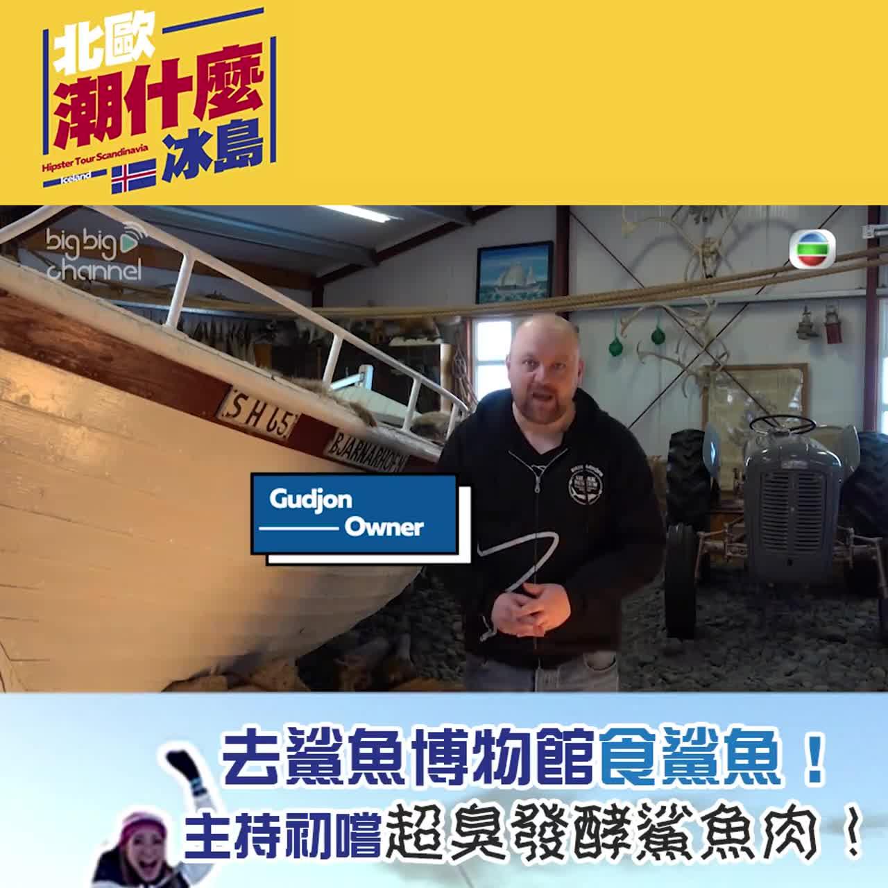去鯊魚博物館食鯊魚!主持初嚐超臭發酵鯊魚肉!