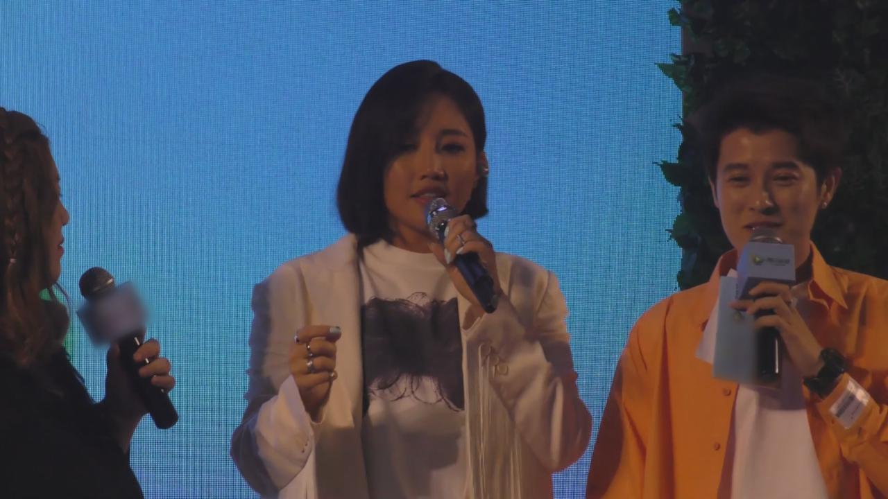 填詞人王雅君辦分享會 邀年輕歌手朱星傑演出
