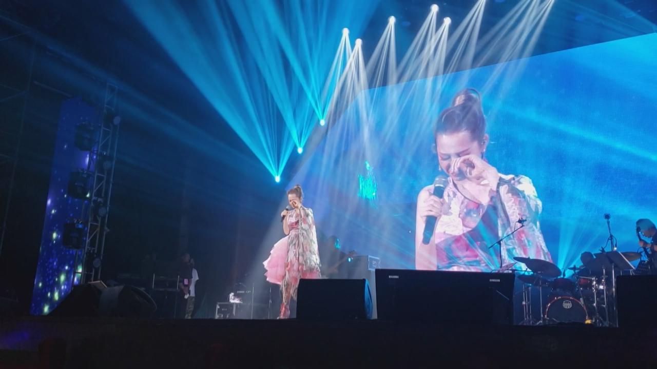 入行十八年圓夢開巡唱 關心妍激動落淚感謝歌迷支持