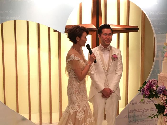 恭喜晒李壁琦今日結婚做人妻