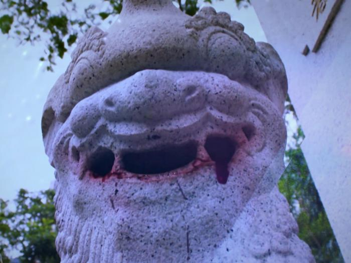 宣傳片:石獅作怪,吐石殺人?