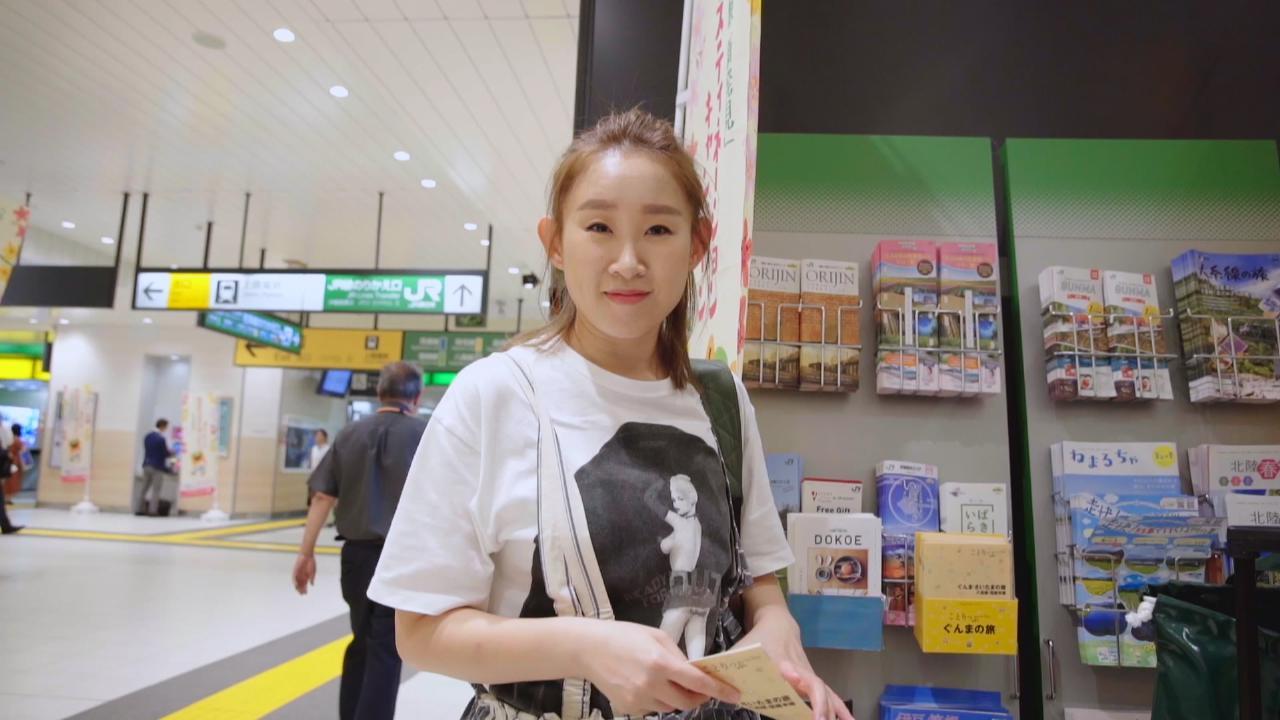 王菀之於澀谷播新MV預告片 無視途人目光興奮又叫又跳