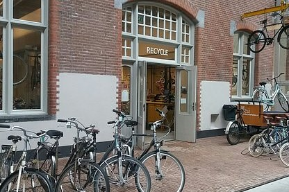 【天書】Recycle Bicycle shop and Workshop