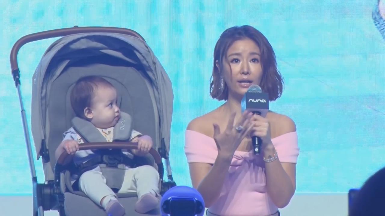 林心如上海出席活動 分享女兒成長軼事