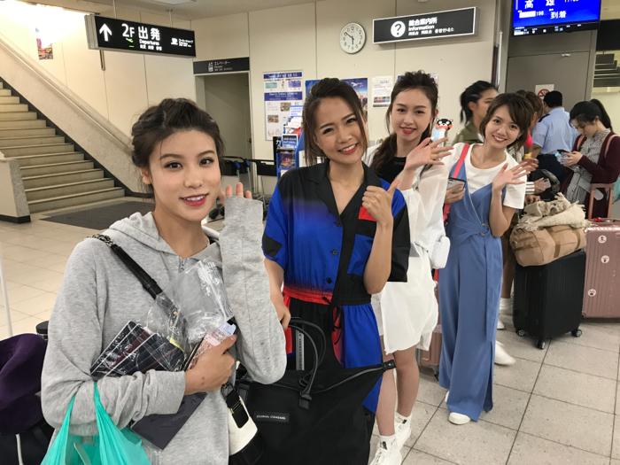 港姐日本之旅完滿結束!