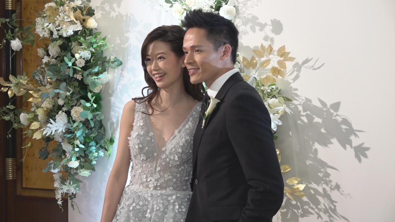 蘇頌輝補辦婚宴 嘆求婚過程美中不足