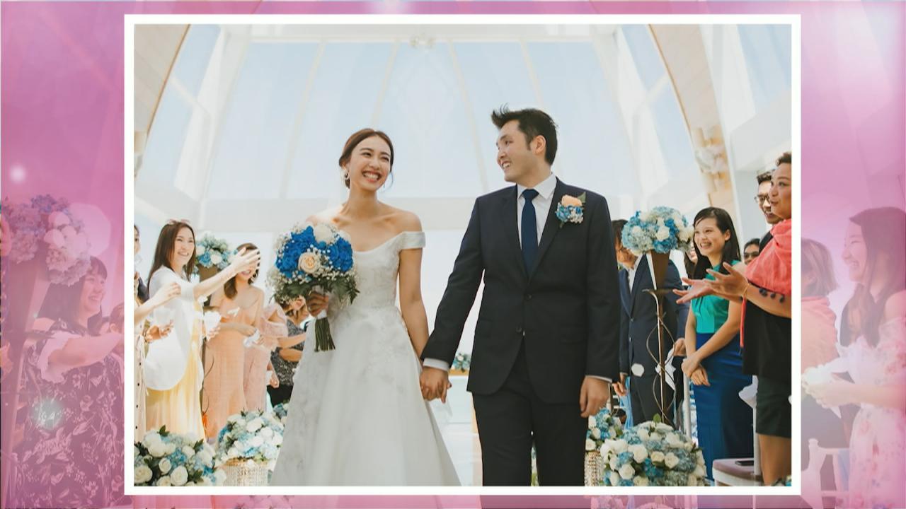 月初與未婚夫Justin峇里成婚 朱千雪發放婚照分享喜悅