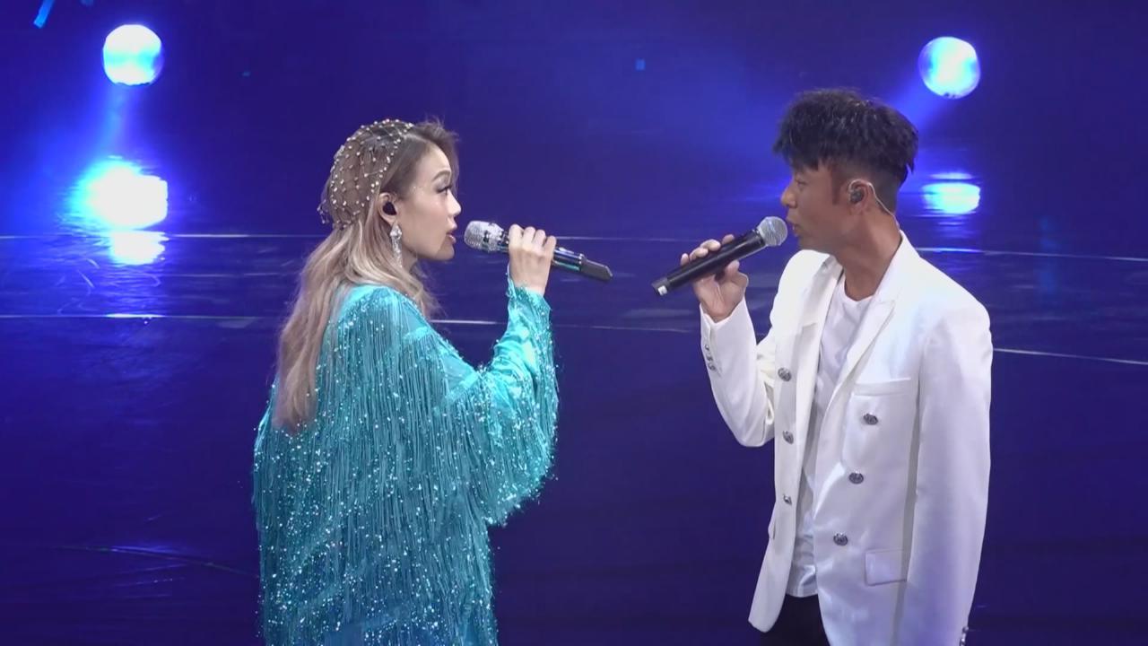(國語)容祖兒第五場演唱會 邀李克勤合唱助陣