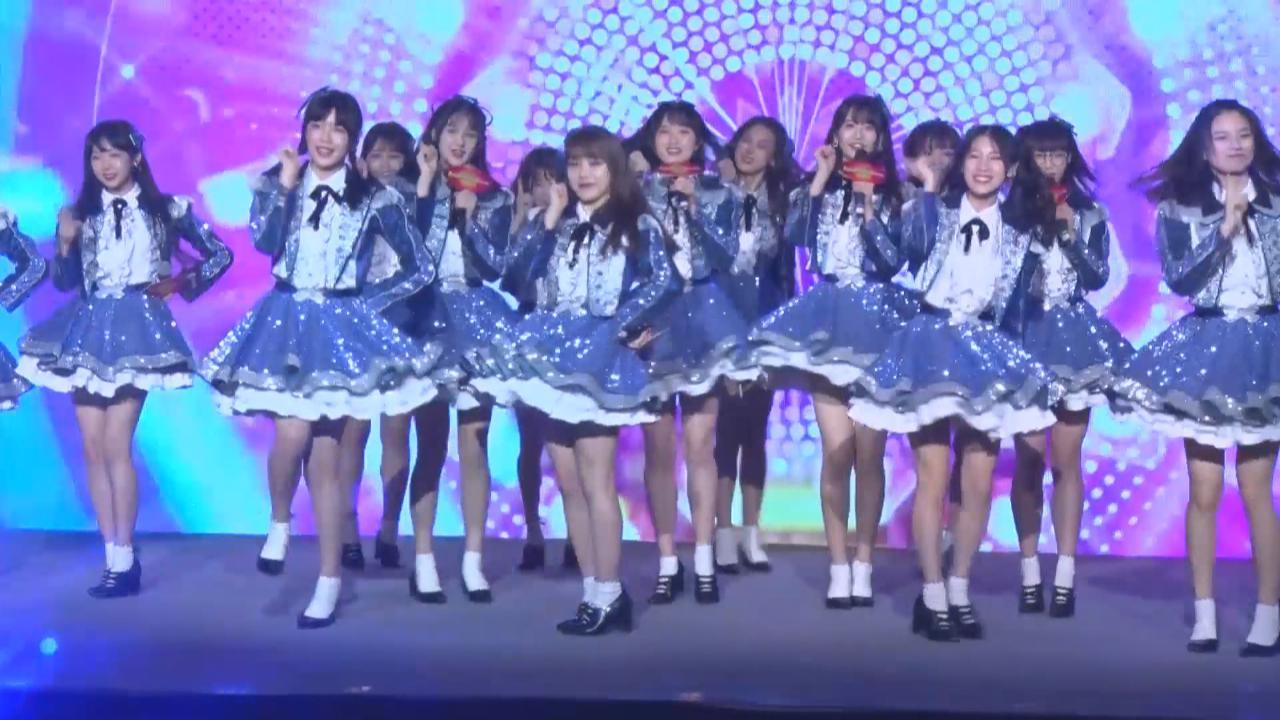 (國語)AKB48TeamSH為上海站演出造勢 見面會上勁歌演舞炒熱氣氛