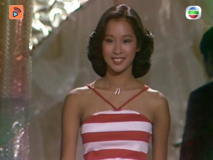 1977年 首位雙料港姐朱玲玲 同時奪最上鏡小姐及冠軍