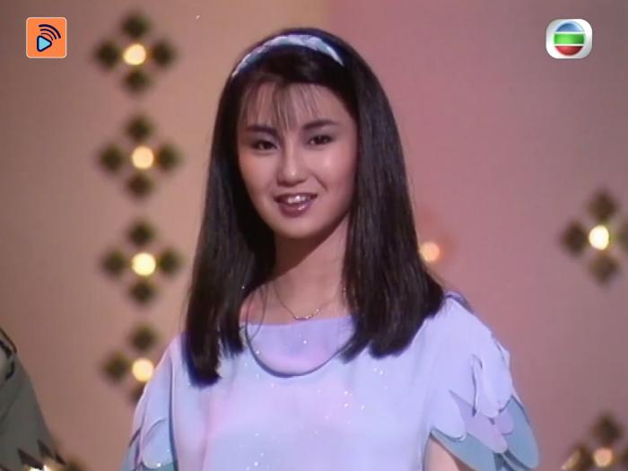 1983年決賽 18歲的張曼玉如何為自己設計主題服裝