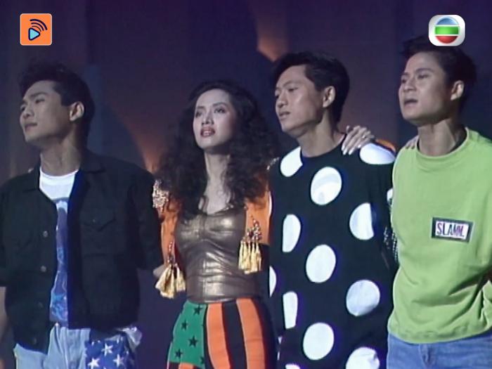 1989年決賽 不能錯過的港姐表演 百變梅姐首度為港姐演唱