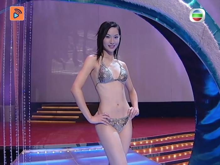 2004年 徐子珊泳裝問答 如何叫志偉封咪?