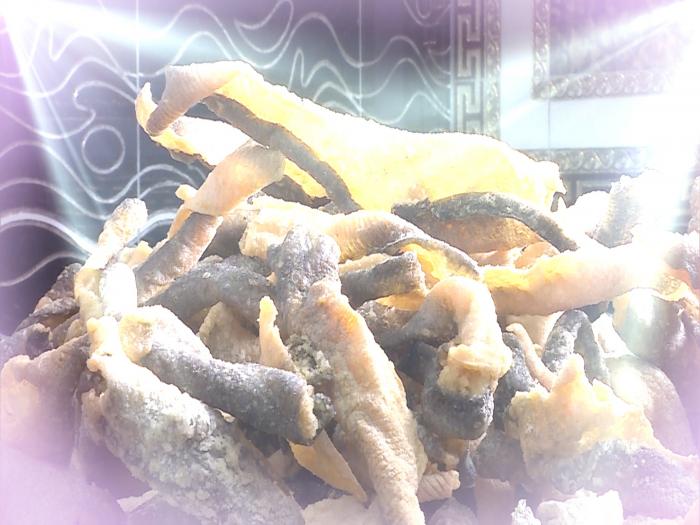 美味至極工序講究 門鱔炸魚皮秘製大公開