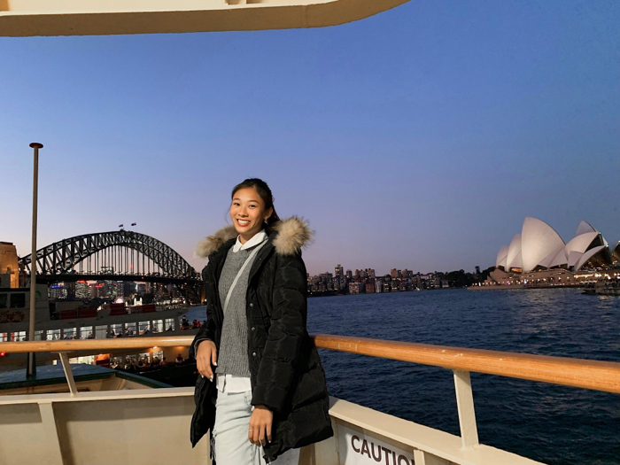 鄧伊程 Tiffany - 第一次近距離見到Sydney Opera House