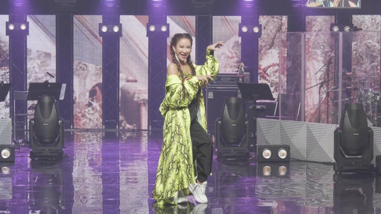 (國語)與林宥嘉蕭敬騰拍綜藝節目 李玟獲邀任節目導師感興奮