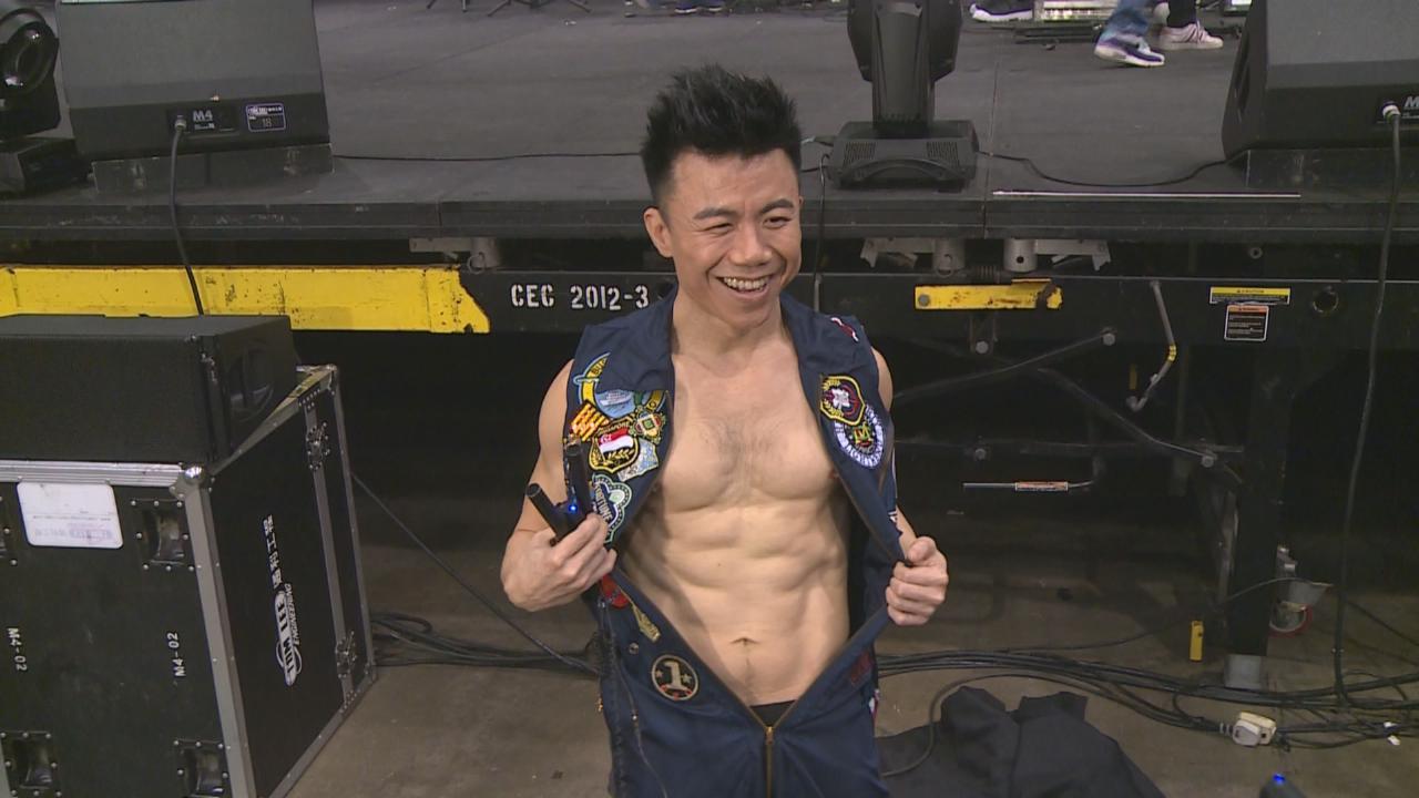 (國語)陳奐仁個唱大秀麒麟臂 展現健身鍛鍊成果