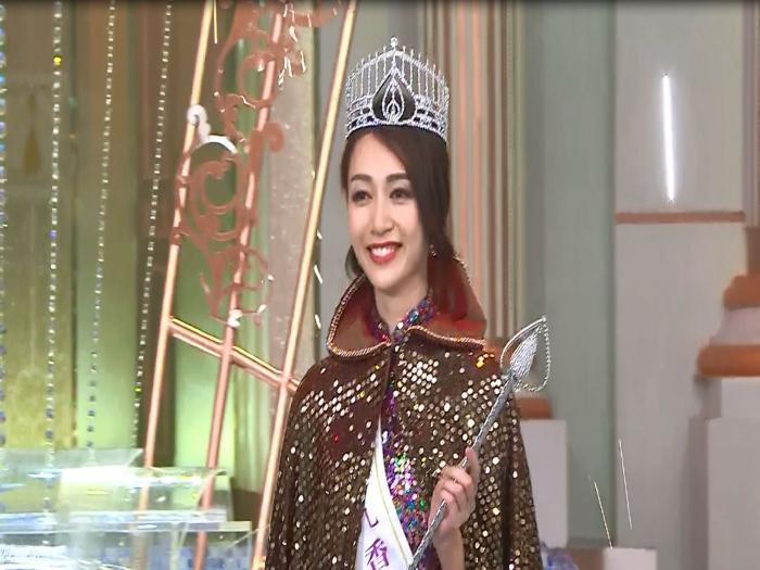 出爐港姐冠軍黃嘉雯最具體態美