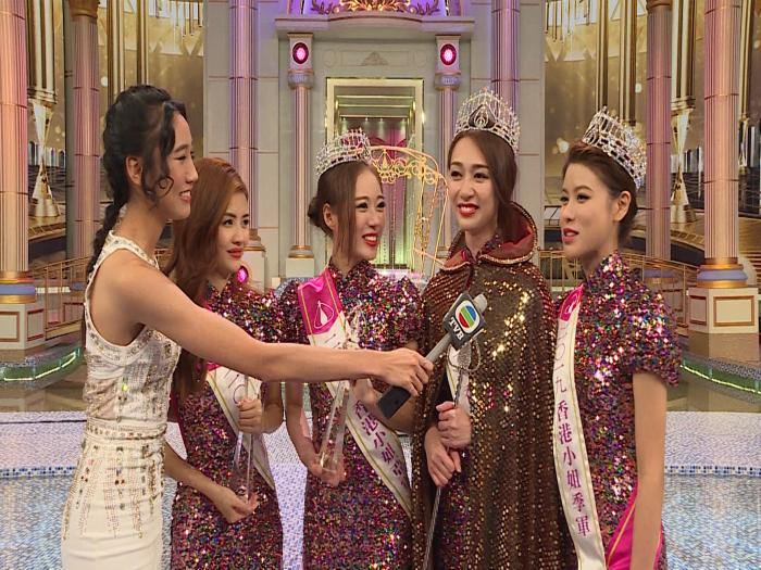 2019香港小姐 冠亞季軍喜極而泣談得獎感受