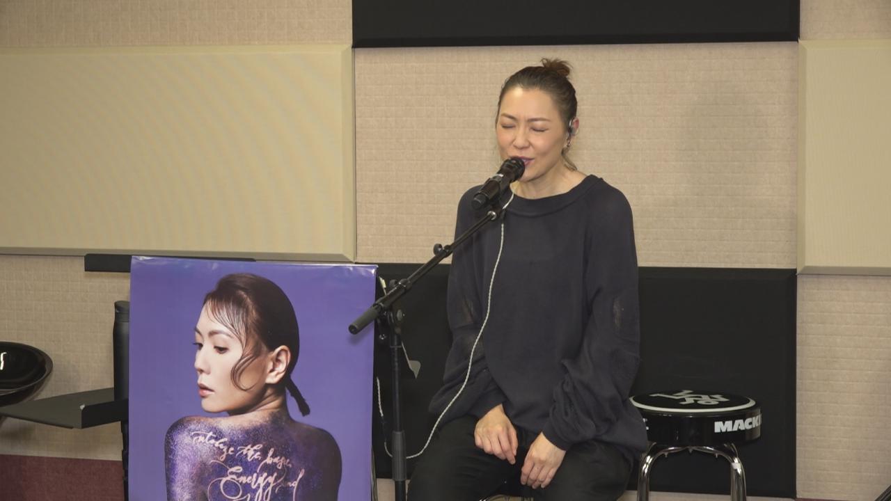 田蕊妮為演唱會綵排 盼演出時呈現最好狀態